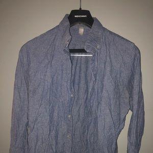 Men's small American Apparel button down shirt